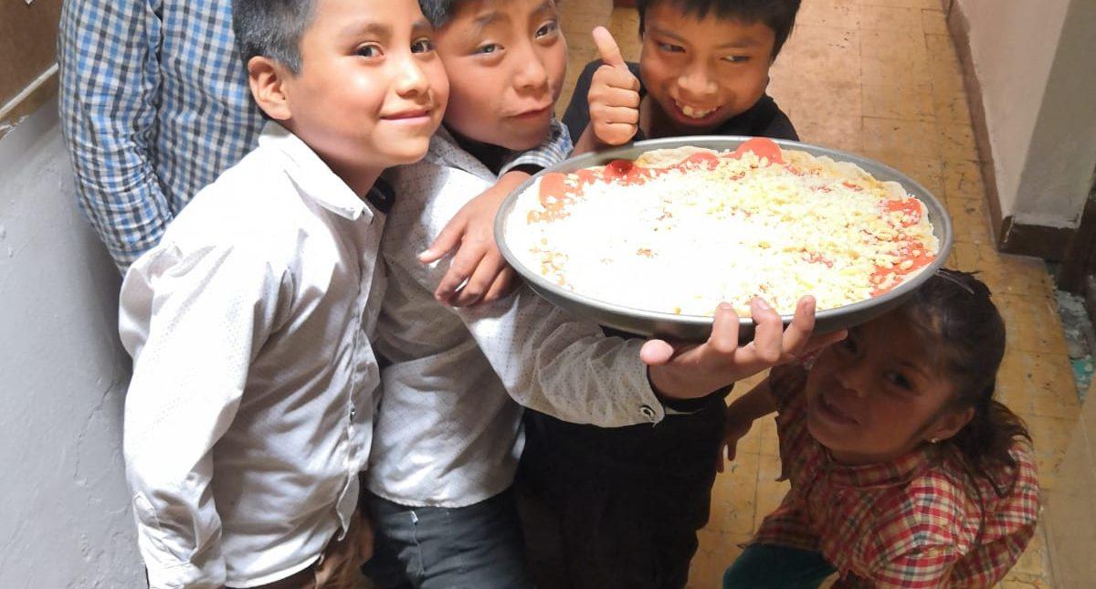 Las recetas de La Casa de las Flores : Pizza Pepperoni